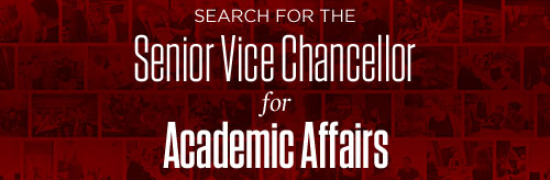 Search for the Senior Vice Chancellor for Academic Affairs